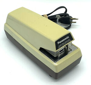 Panasonic Commercial As 300nn Electric Stapler W Adj Depth Tested Free Shipping