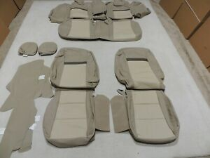 Leather Seats Upholstery Covers Fits Toyota Camry Xle U Vin Tan 2012 2014 E23