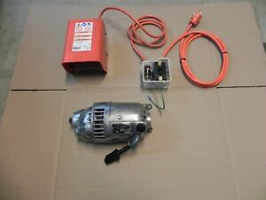 Ridgid 300 Motor 115v With Fwd rev Switch And Foot Switch Complete Set Nice