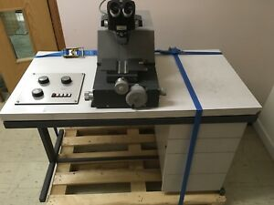 Reichert Ultramicrotome Omu3 W Manual Laboratory Sectioning Equipment