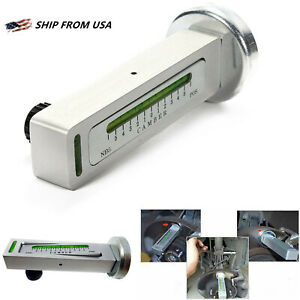 Adjustable Magnetic Gauge Tool Camber Castor Strut Wheel Alignment Truck For Car