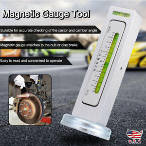 Universal Magnetic Gauge Tool For Car truck Camber castor Strut Wheel Alignment