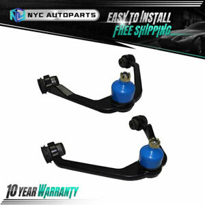 2x Front Upper Control Arm W Ball Joint For 1997 2002 Ford Expedition F 150 2wd
