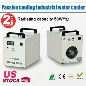 110v S a Cw 3000dg Industrial Water Chiller For 60w 80w Co2 Glass Laser Tube