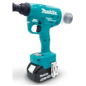 Huck Makita Cordless Rivet Lockbolt Tool Kit 18v Lith Ion Brushless Motor 1