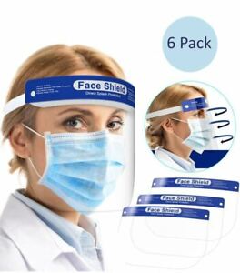 Face Mask Shield Anti Air Dust Cover Unisex Mouth Fashion Protective 6 Pack