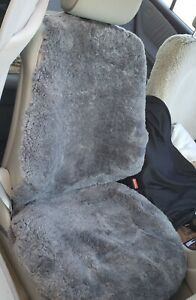 Sheepskin side less Seat Cover 1 Seat Cushion And 1 Back Cushion 3 Colors