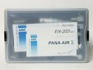 Nsk Pana air Dental High Speed Air Turbine Handpiece Kit Ex 203