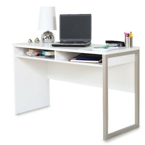 Modern Desk Home Office Contemporary Storage Living Room Kitchen Bedroom White