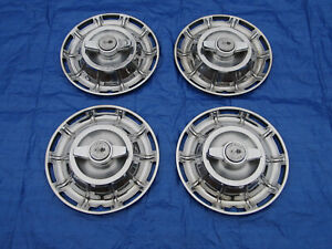 Original Set Of 1959 1960 1961 1962 Corvette 15 Spinner Hubcaps Wheel Covers