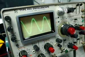 Tektronix Type 453 Oscilloscope And Instruction Manual