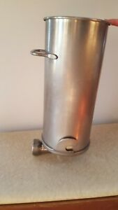 Make Offer Heavy duty Commercial Grade Stainless Steel Sausage Stuffer Cylinder