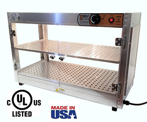 Commercial Food Warmer Heatmax 30x15x20 Pizza Patty Pastry Display Case