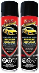 Dry Shine Waterless Car Wash Wax 2 Cans Top Rated Free Shipping