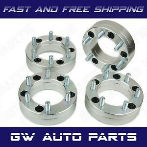 4pc 2 Wheel Adapters 5x4 5 To 6x5 5 5 Lug To 6 Lug 5x114 3 To 6x139 7
