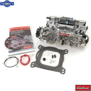 Thunder Avs Carburetor Edelbrock 1826 650 Cfm With Electric Choke Satin Finish