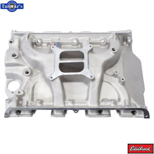 Ford Fe Performer 390 Intake Manifold Satin Finish Edelbrock 2105