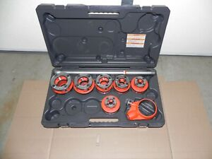 New Ridgid 12r 1 2 2 Npt Set 6 Heads 36475 For Use W 700 300 W Case Pls Read
