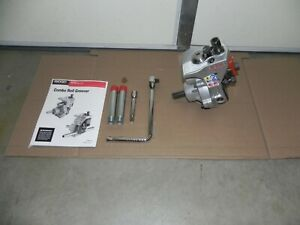 Ridgid 975 Combo Roll Groover 1 1 4 To 6 With Ratchet For Rigid 300 1822 535