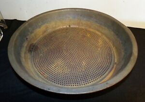 Primitive Metal Strainer Sifter Sieve 12 X 2 1 4 Antique