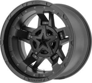 4 new 17 Xd Xd827 Rockstar Iii Wheels 17x9 8x6 5 8x165 1 12 Matte Black Rims