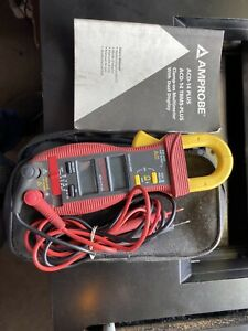 Amprobe Acd 14 Plus Digital Clamp Meter W case And Book
