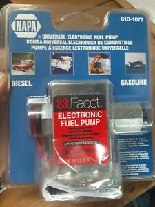 Facet 12v 610 1077 Electronic Fuel Pump New Holland 84130988 And 87024903