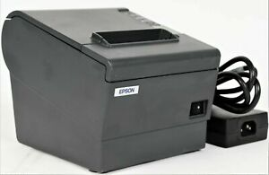Epson Tm t88iv M129h Usb Thermal Pos Receipt Printer With Power Adapter