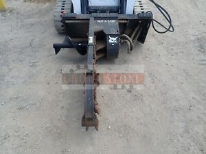 2006 Bobcat Lt313 Trencher For Skid Steers Ssl Quick Attach