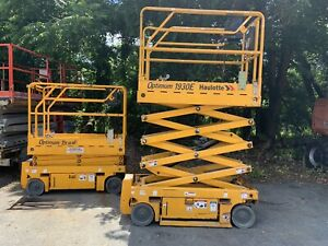 Haulotte 1930e Optimum 19 Electric Scissor Man Lift 30 Wide