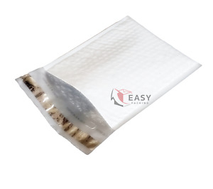 100 poly 0 6 5x10 Bubble Mailers Padded Envelopes Airjacket Brand