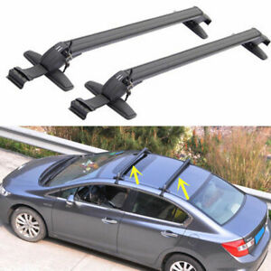 Top Roof Rack For Ford Focus Honda Civic Baggage Luggage Carrier Cross Bar Cross