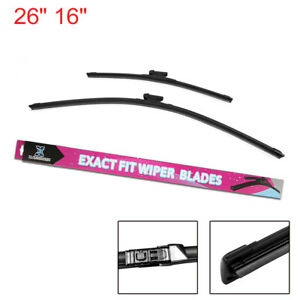 26 16 Car Windscreen Windshield Wiper Blades For 2017 2018 Subaru Xv Impreza