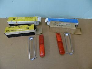 Nos Pontiac 1971 1972 Grand Ville Bonneville Rear Side Marker Lenses