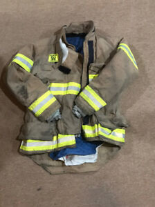 Morning Pride Turnout Gear Jacket Size 40 Firefighter