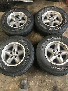 1997 2003 Jeep Zj Xj Yj Tj Cherokee Wrangler Limited Factory Wheels