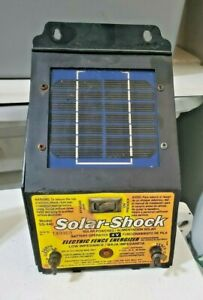 Solar shock Electric Fence Energizer Model Ss 440 Untested Sold As Is