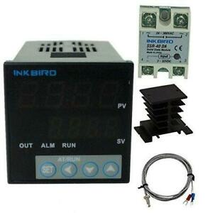 Inkbird Pid Thermostat f c Display Stable Digital Temperature Controller