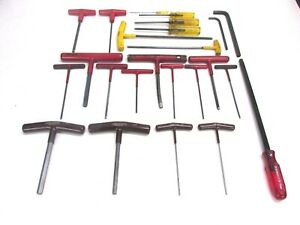 Huge Lot Of Hex Drive Wrenches Bondhus Craftsman Sears Allen Paramount