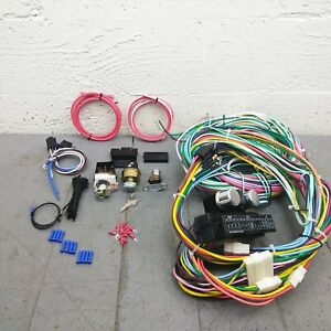 1964 66 Gm A body Main Wiring Harness Headlight Switch Kit Chevy 330 400 389