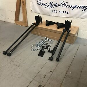 Ford Mustang 1964 1966 Heavy Duty Triangulated 4 Link Kit Shelby Pony Car Muscle