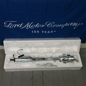 1957 1966 Ford Truck Chrome Steering Column Hot Rod Street Rod Shift Automatic