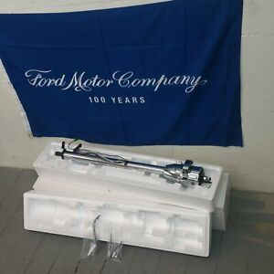Chrome 33 Steering Column Automatic Col Shift No Key Custom Ford Truck 1980 86 Fits 1985 Ford