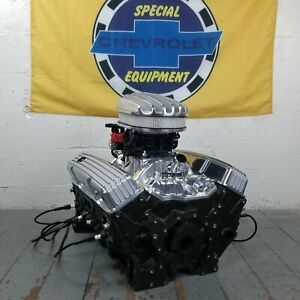 Sb Chevy 12 Deep Finned Air Cleaner Engine Dress Up Kit Valve Covers 58 79 350