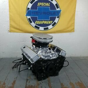 Sb Chevy 15 Finned Air Cleaner Engine Dress Up Kit Valve Covers Small Block 350