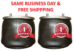 Pair Of Airbag Air Spring Replace 21800 Goodyear 1r13 159 Firestone W01 358 8709