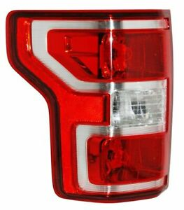 Tail Lights Lamp Ford F150 2018 2019 W O Led Lh Driver Side