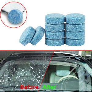 10x Car Windshield Washer Cleaning Tools Solid Effervescent Tablets Accessories $1.94