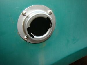 International Harvester Scout 80 800 New Fuel Filler Flange Cap Kit