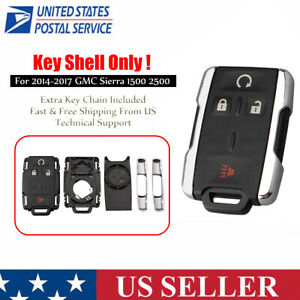For 2014 2015 2016 2017 Gmc Sierra 1500 2500 3500 Remote Key Fob Case Shell Fits Tahoe
